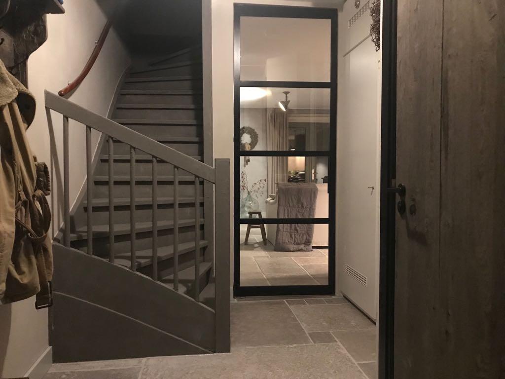 Stalen deur Rene Houtman Interieurs