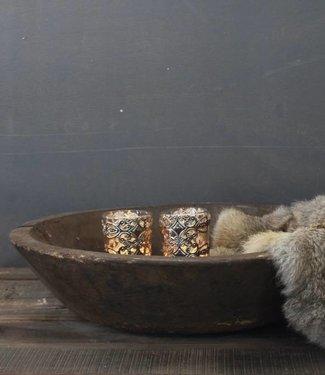 Oud Houten Trog/bak 50 cm