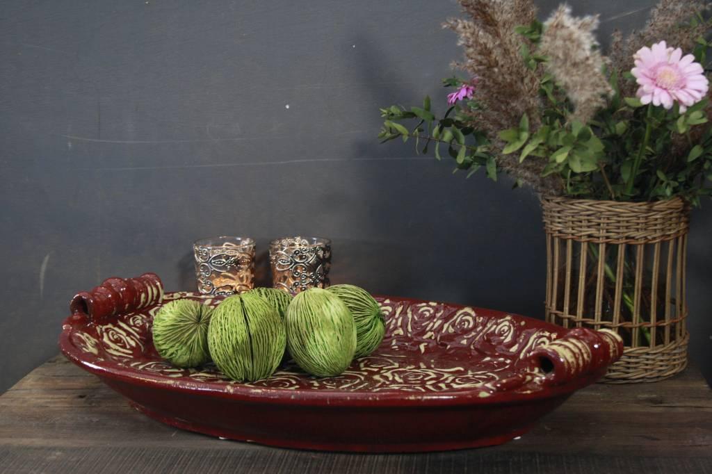 Saladeschaal PTMD met handvaten 57 cm-1