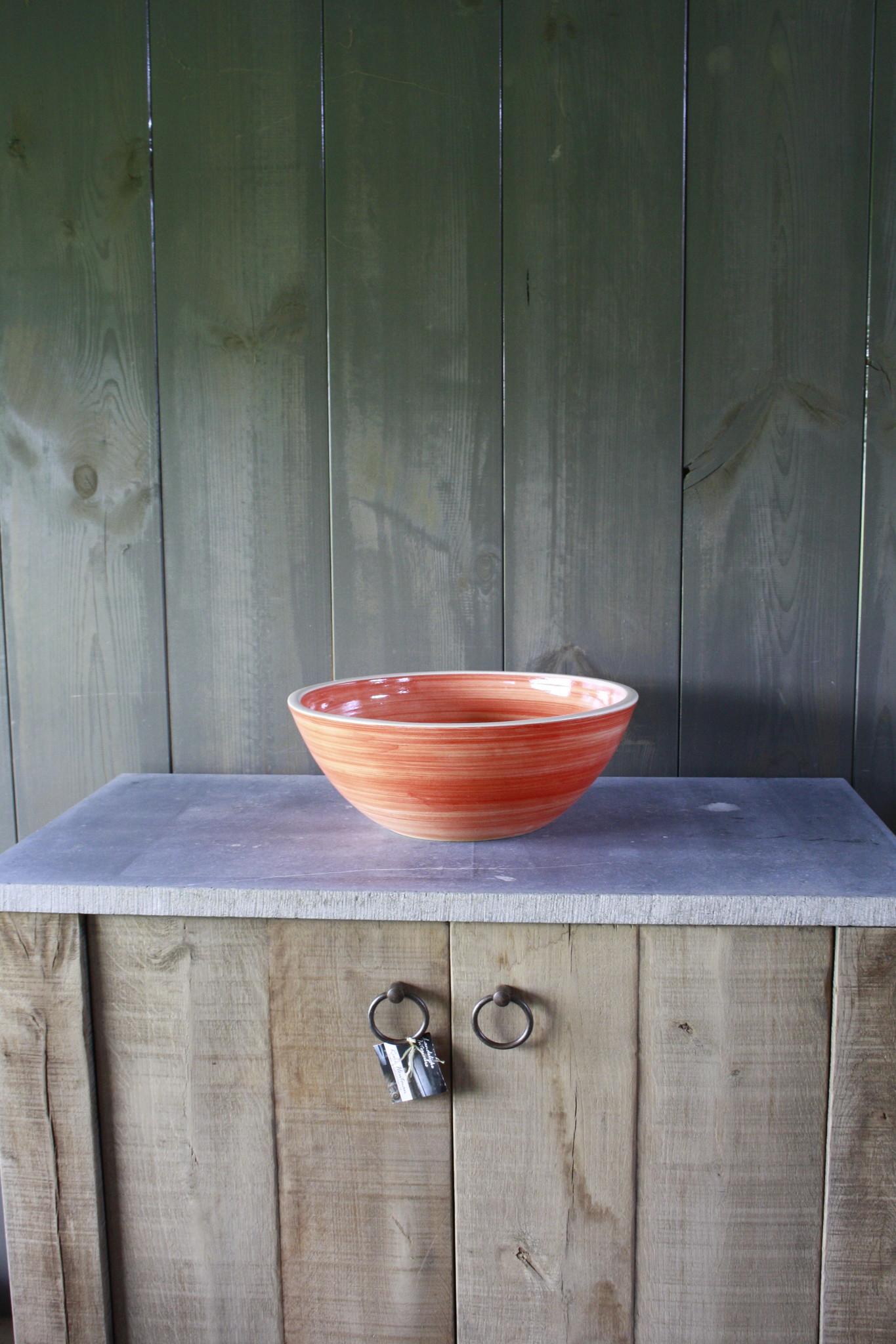 Borchia waskom porselein oranje 40 cm x 15 cm-1