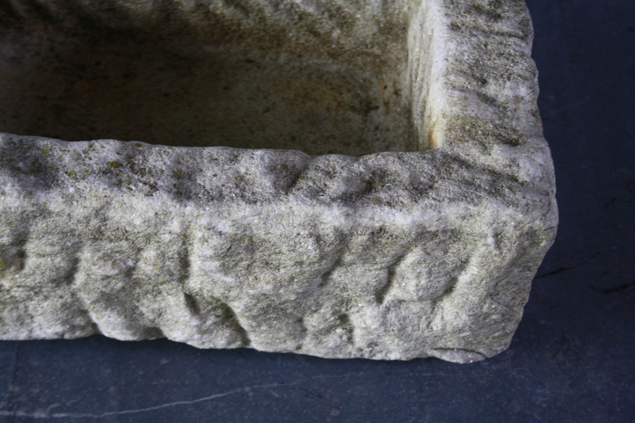 Nature oud wit stenen wasbak 60 cm x 30 cm-6