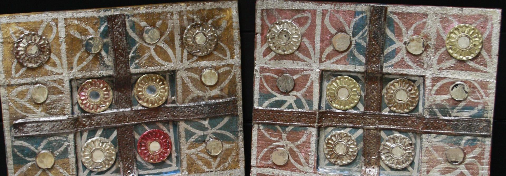 Set decoratieve wandpanelen Ibiza 30 cm