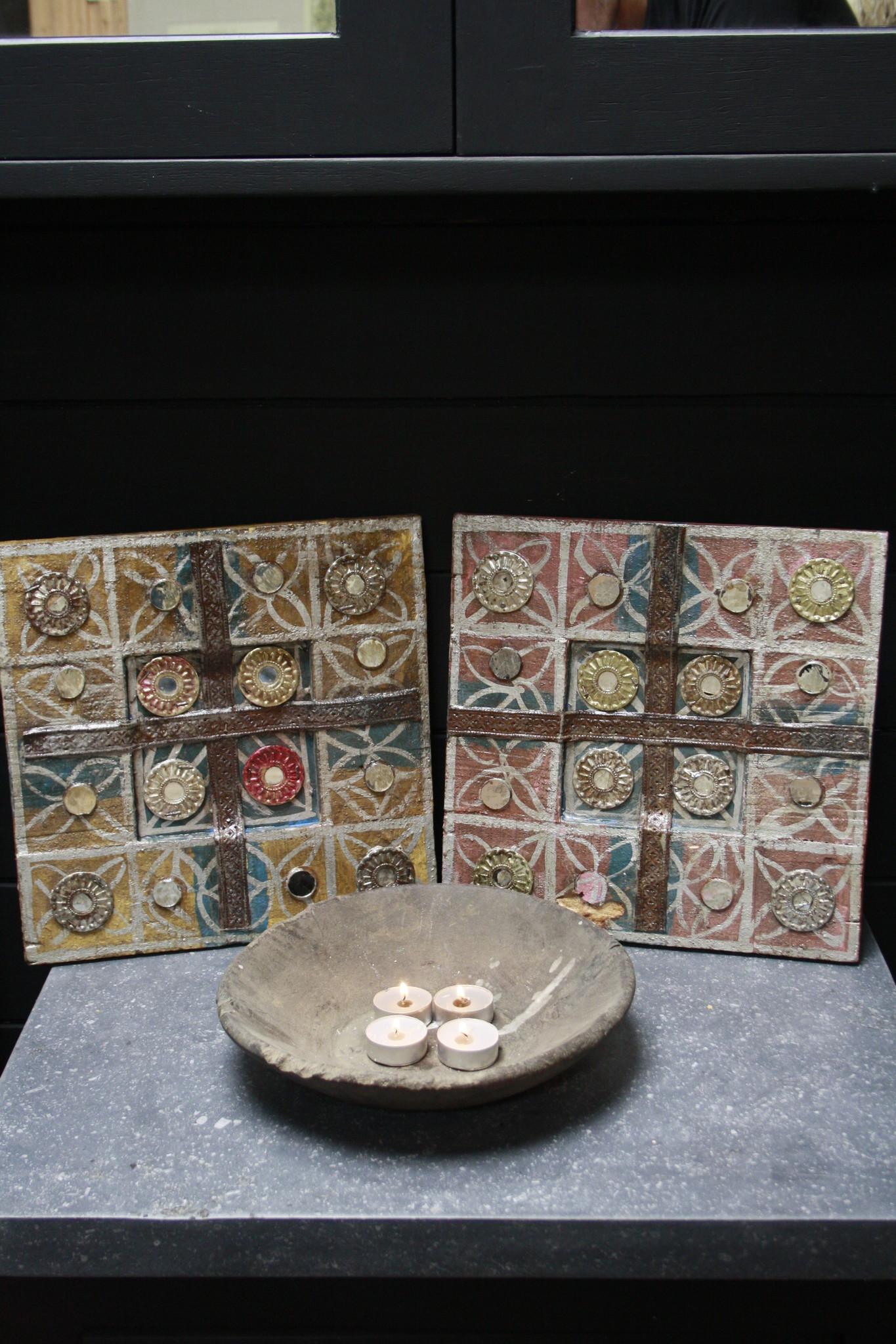 Set decoratieve wandpanelen Ibiza 30 cm-1