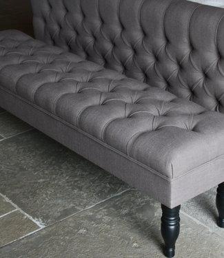 Rene Houtman Bedbankje Gecapitonneerd Bruin 160 x 40 x 47 cm