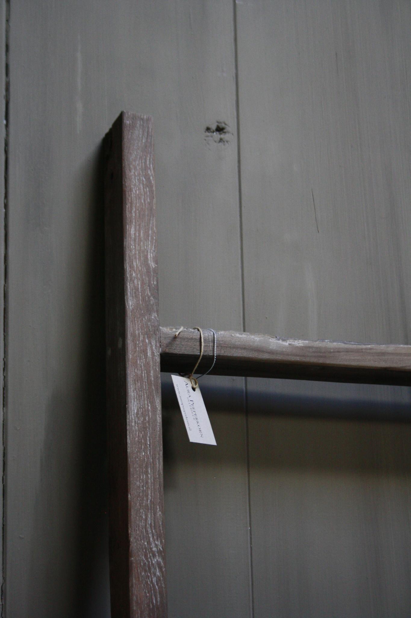 Oud houten ladder 1  Aura Peeperkorn 140 cm-5