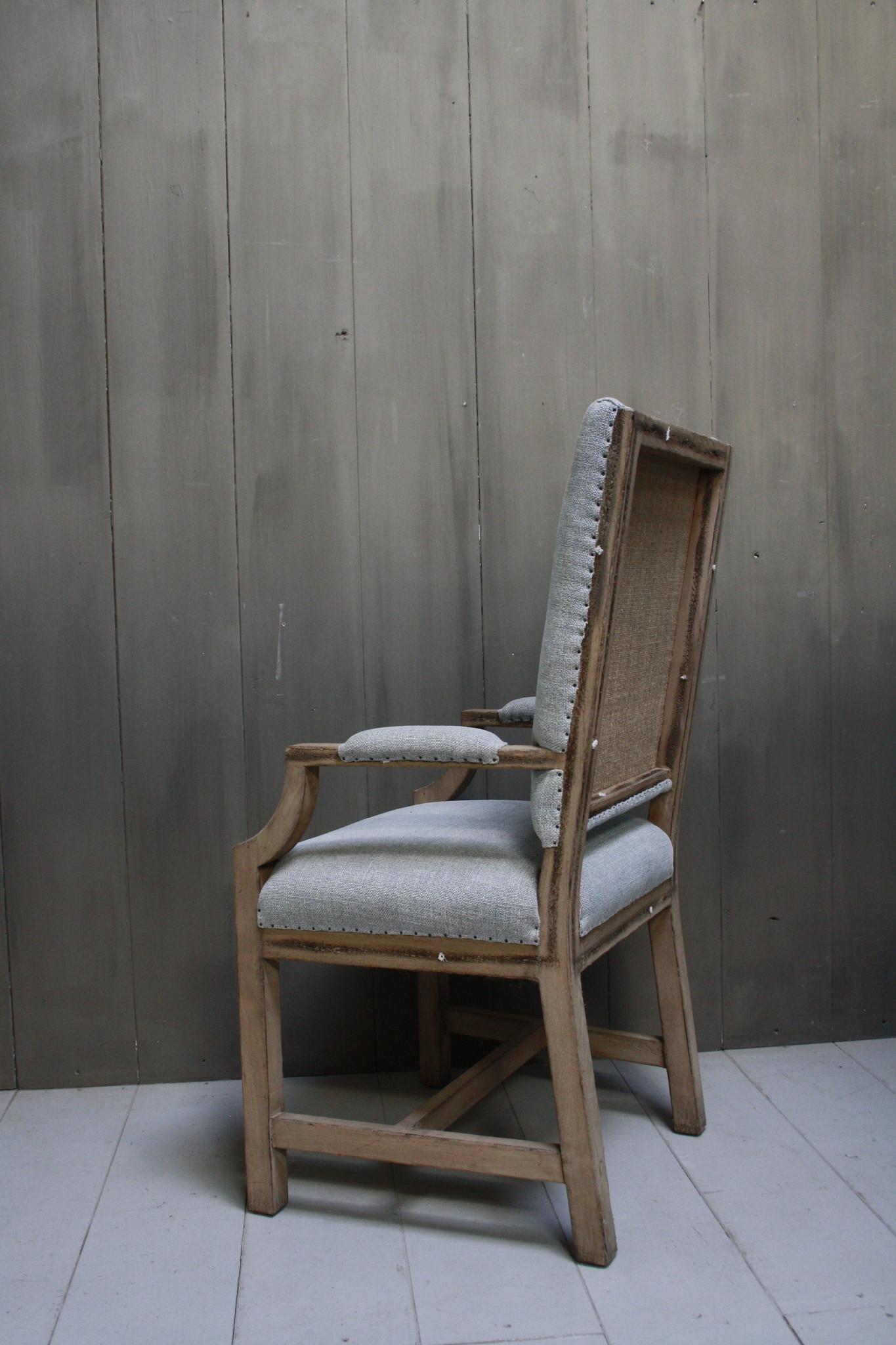 Ralph Lauren Stoel Stof/Hout 116 cm-4