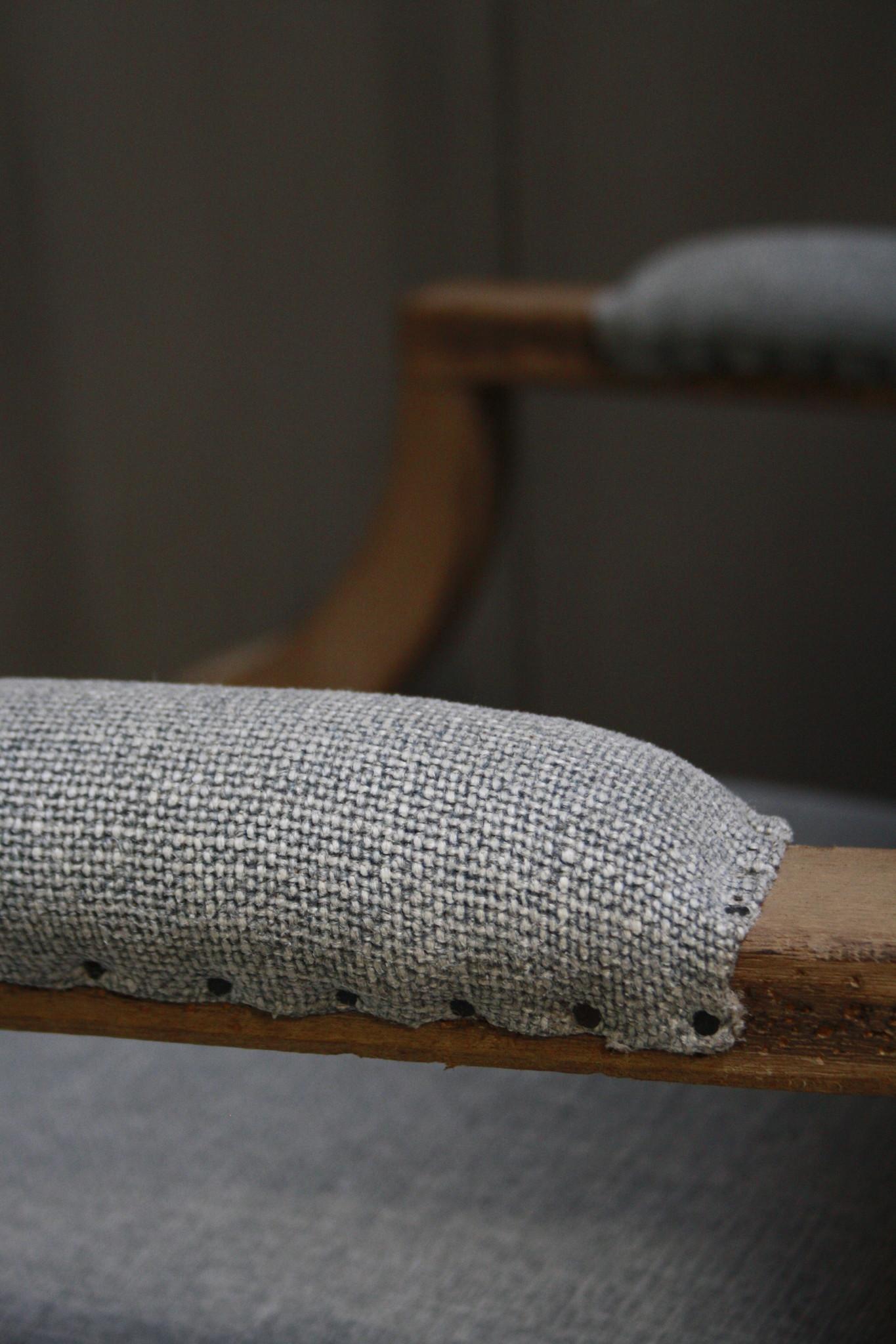 Ralph Lauren Stoel Stof/Hout 116 cm-8