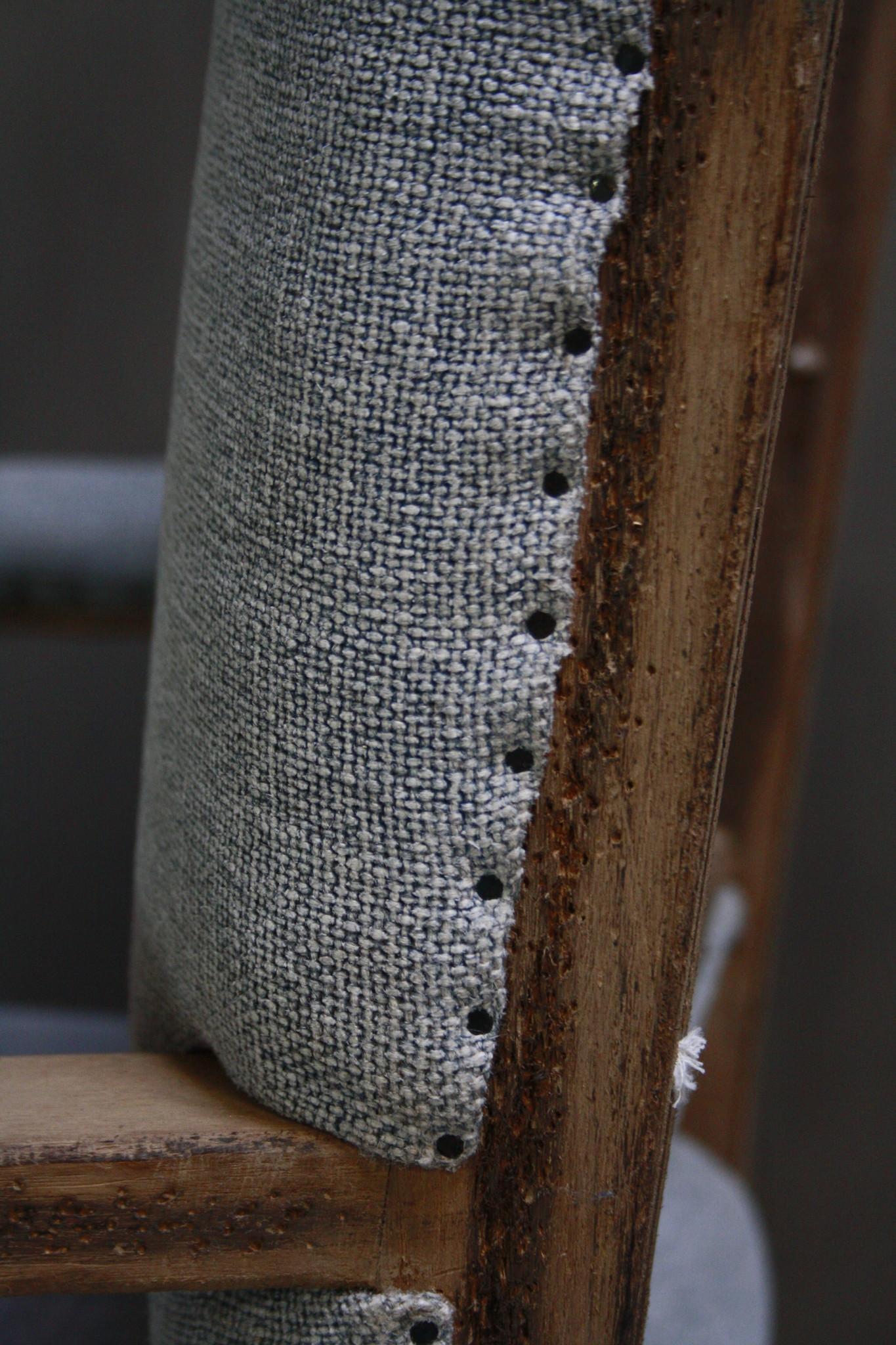 Ralph Lauren Stoel Stof/Hout 116 cm-9