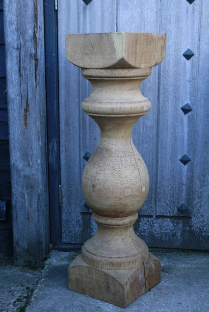 Baluster Lampenvoet Eiken 97 cm