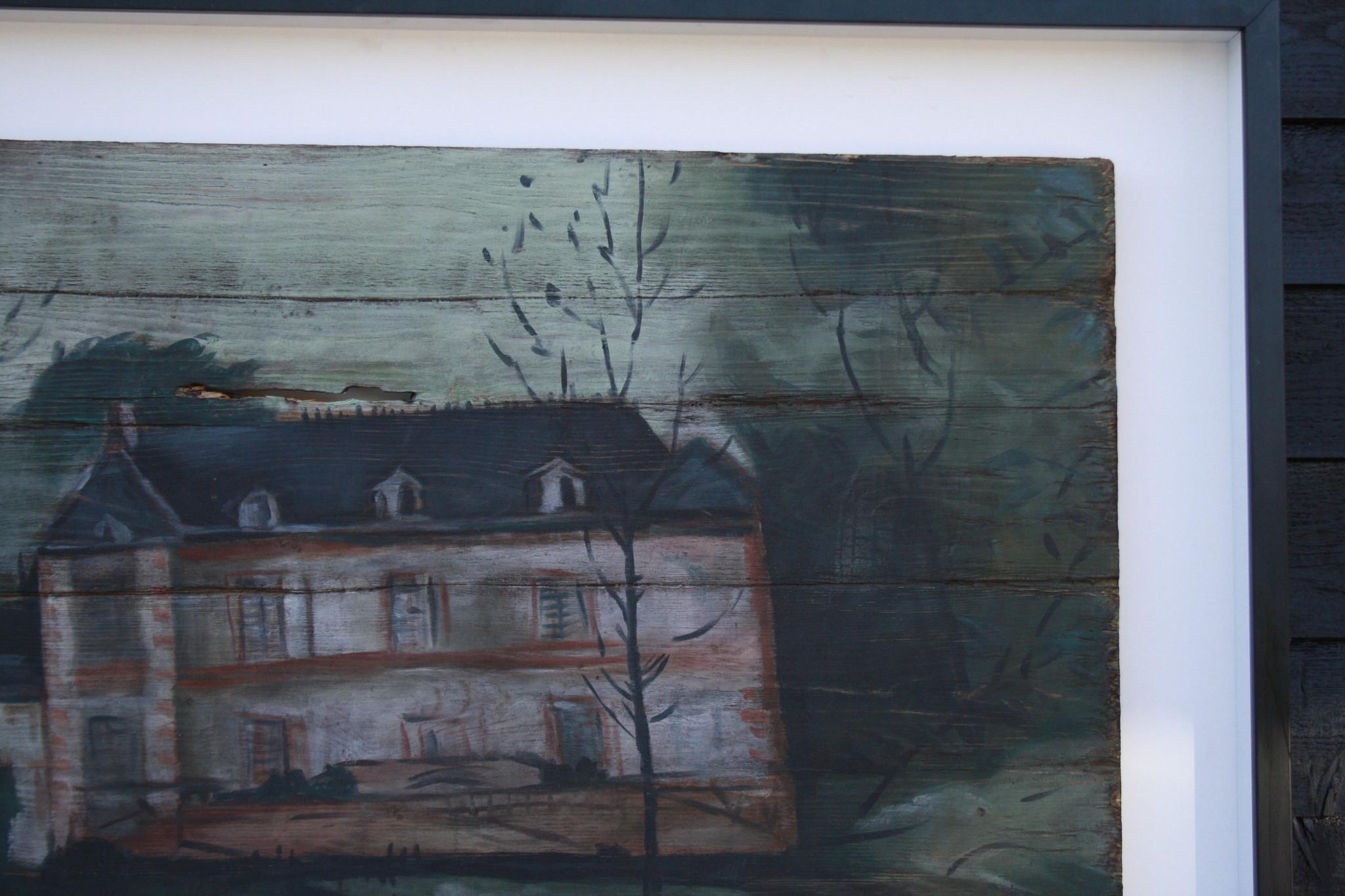 Ralph Lauren Home Schilderij Hout Huis 134 cm-3