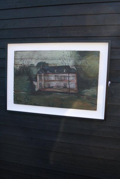 Ralph Lauren Home Schilderij Hout Huis 134 cm