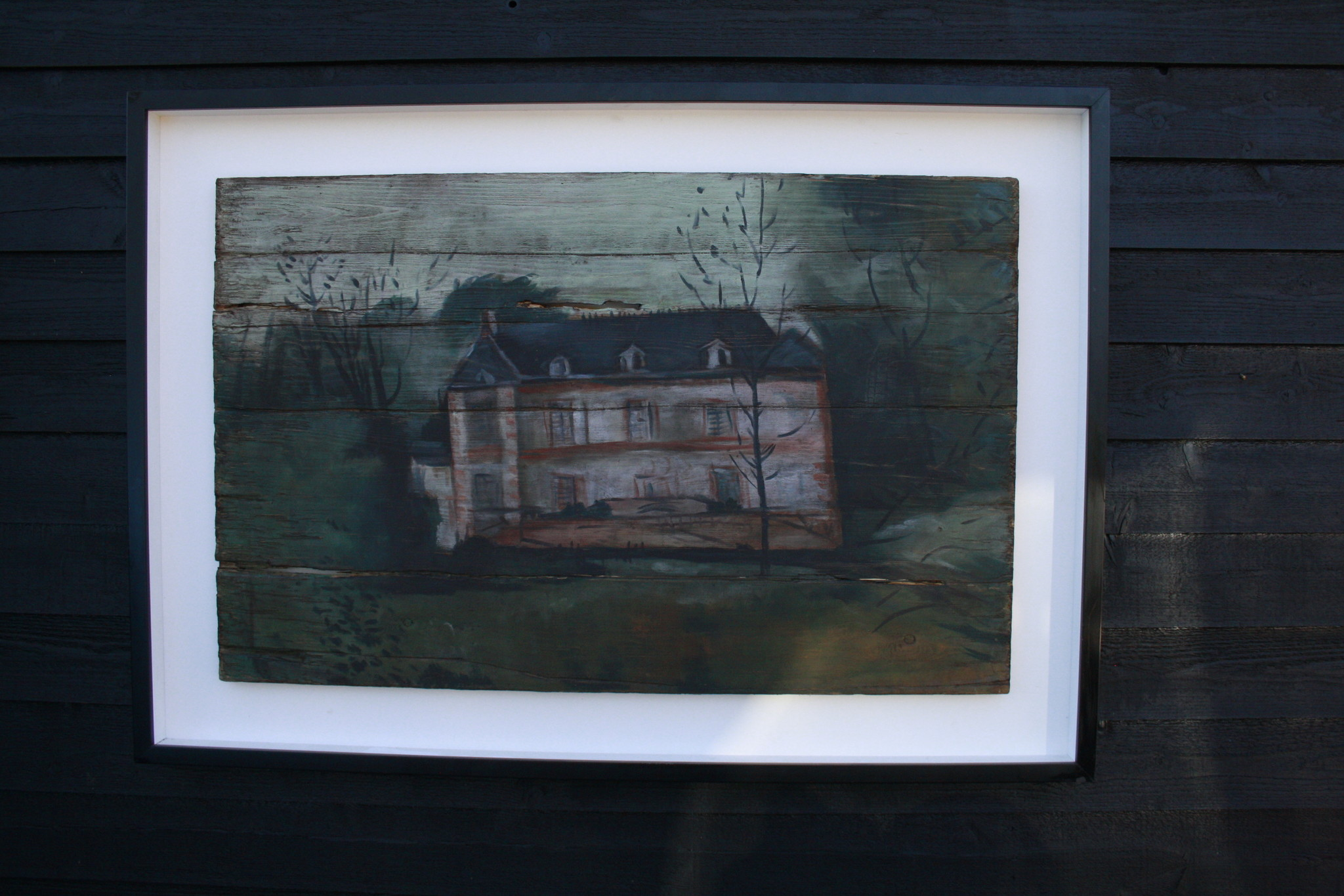 Ralph Lauren Home Schilderij Hout Huis 134 cm-2