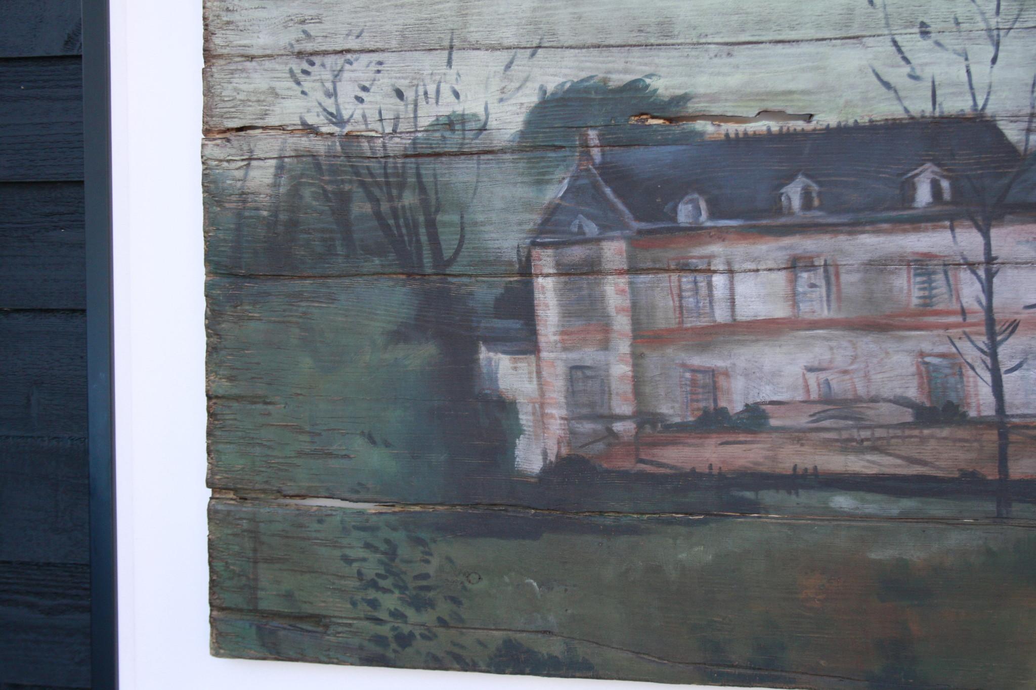 Ralph Lauren Home Schilderij Hout Huis 134 cm-5