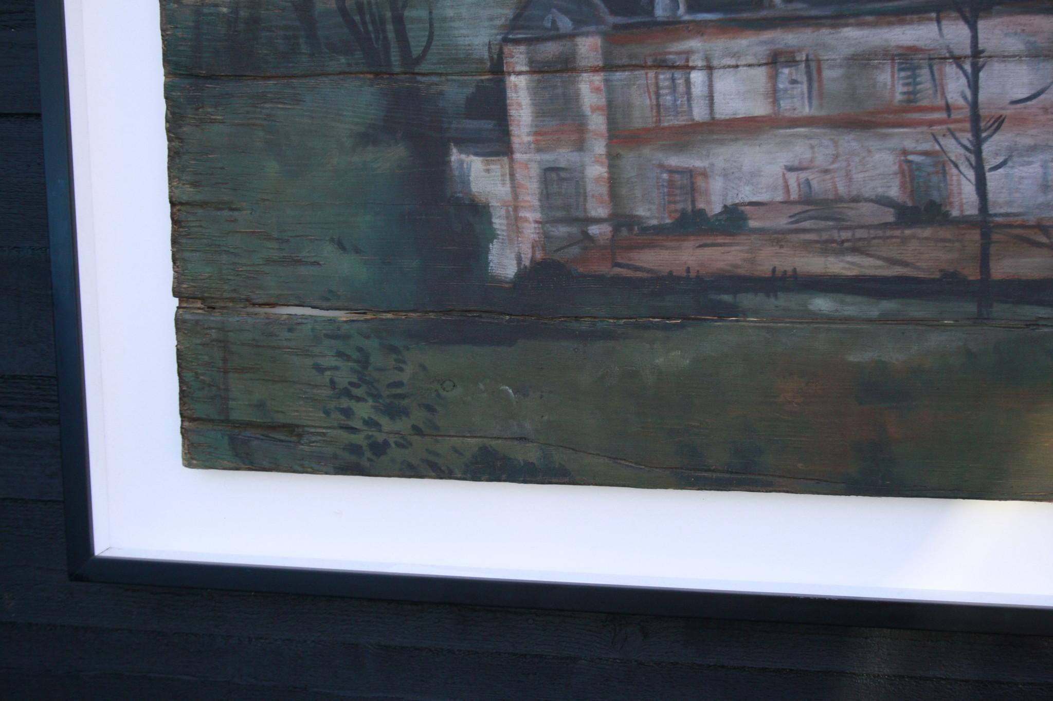Ralph Lauren Home Schilderij Hout Huis 134 cm-6