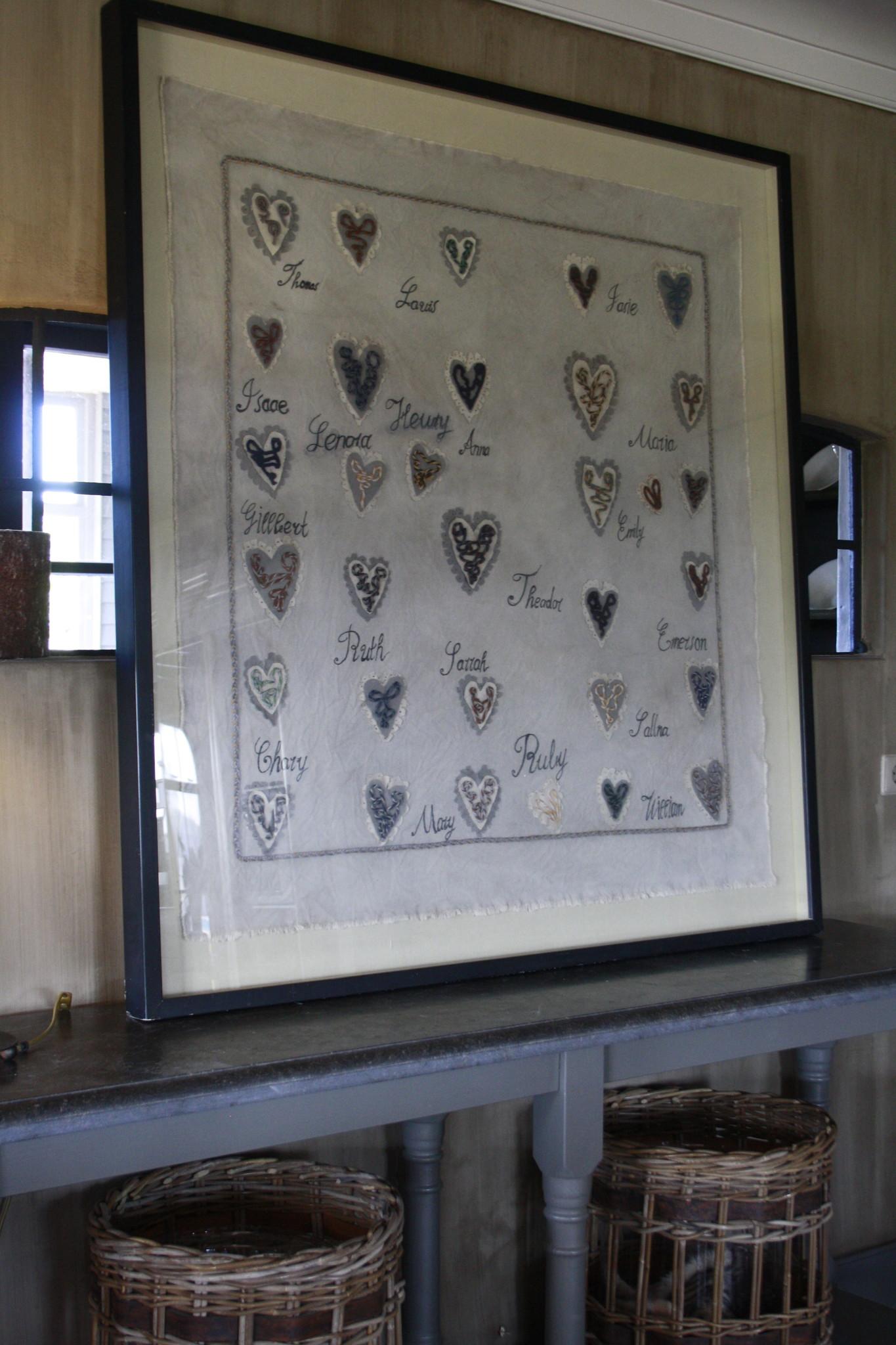 Ralph Lauren Home Schilderij Hearts 135 cm-2