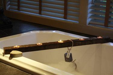 Houten badplanken en badbruggen
