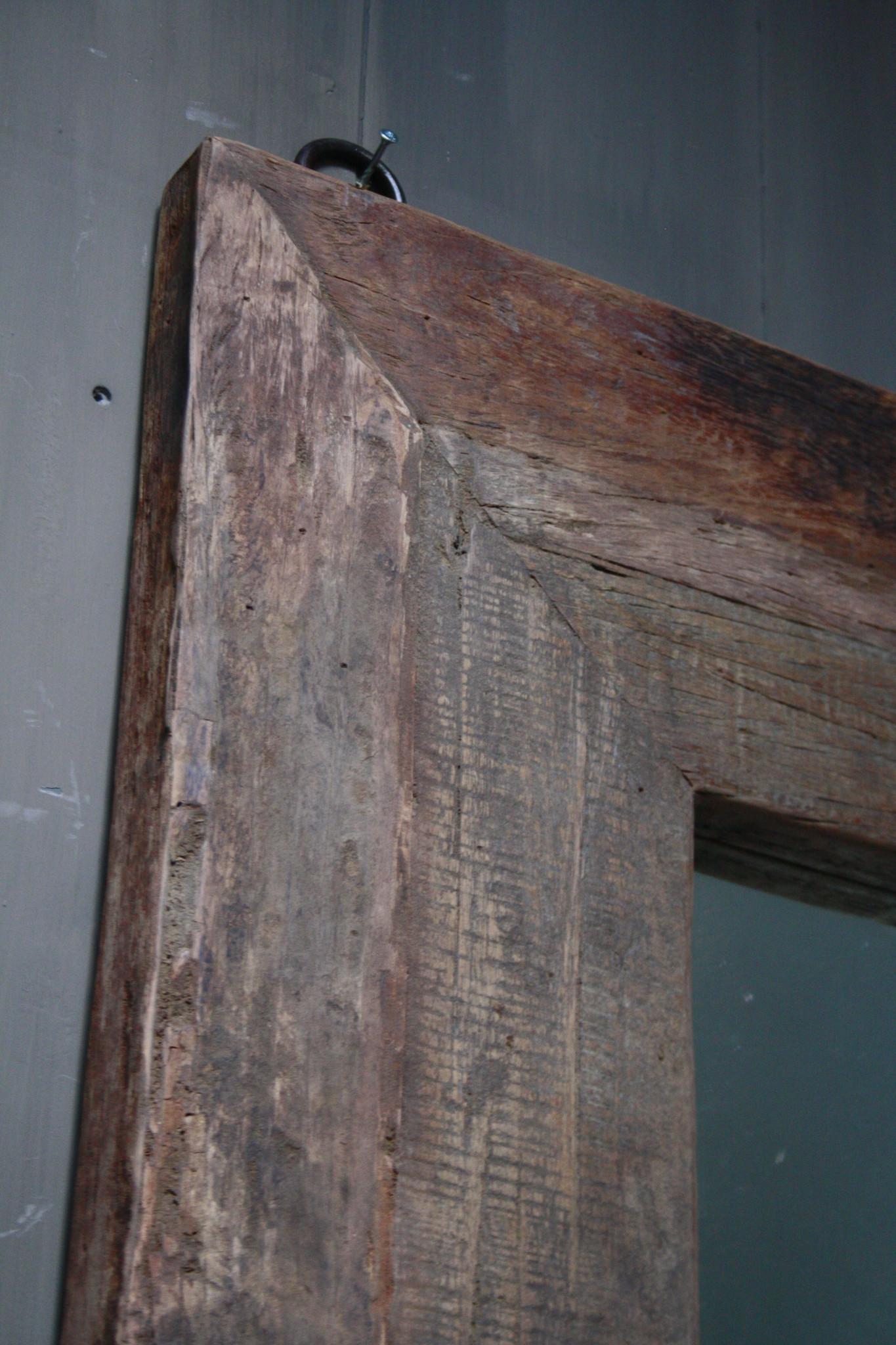 Spiegel oud hout 100 x 200 cm Bassano-4