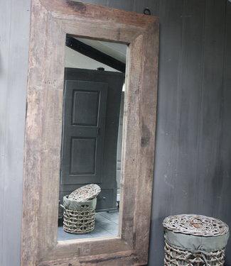 Rene Houtman Spiegel oud hout 100 x 200 cm Bassano