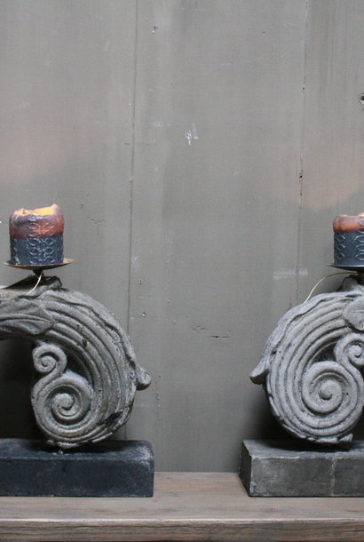 Oorkandelaar liggend beton 40 cm