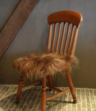 IJslands bruin schapenvacht - langharig schapenvacht