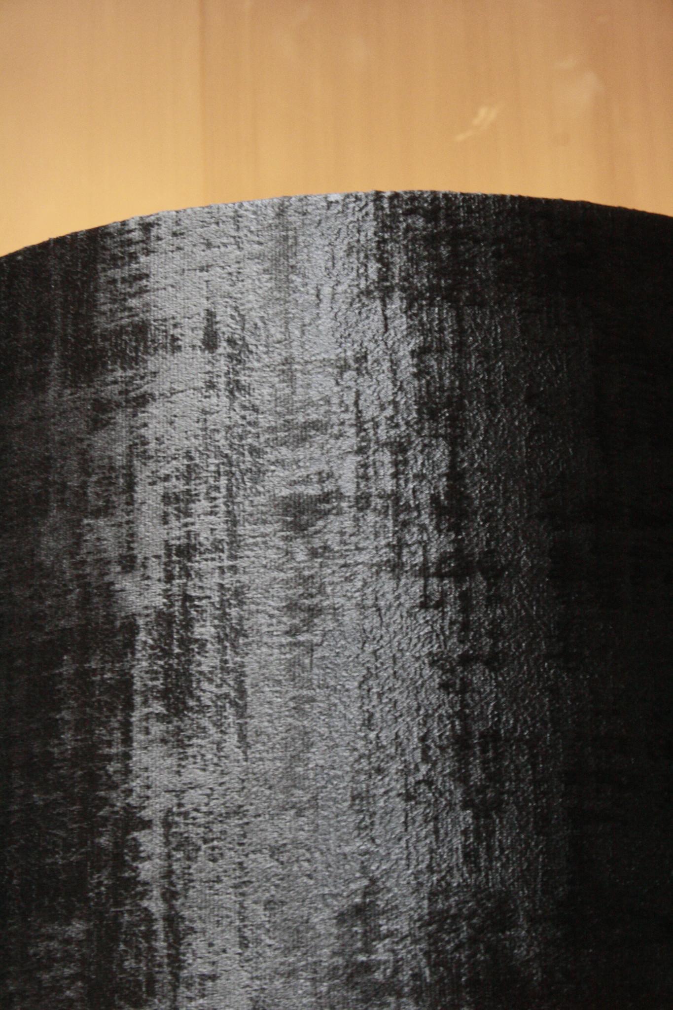 Vloerlamp 120 cm velvet robbs/taupe + natuurstenen voet-4
