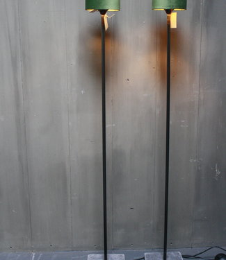 Aura Peeperkorn Vloerlamp 120 cm velvet fluweel groen
