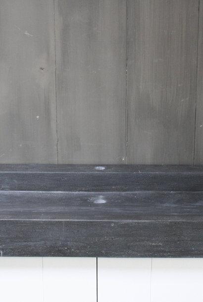 Limbana Natuursteen Meubelwastafel 100 cm 1 kraangat