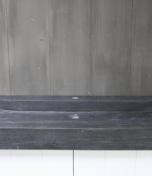 Rene Houtman Limbana Natuursteen Meubelwastafel 100 cm 1 kraangat