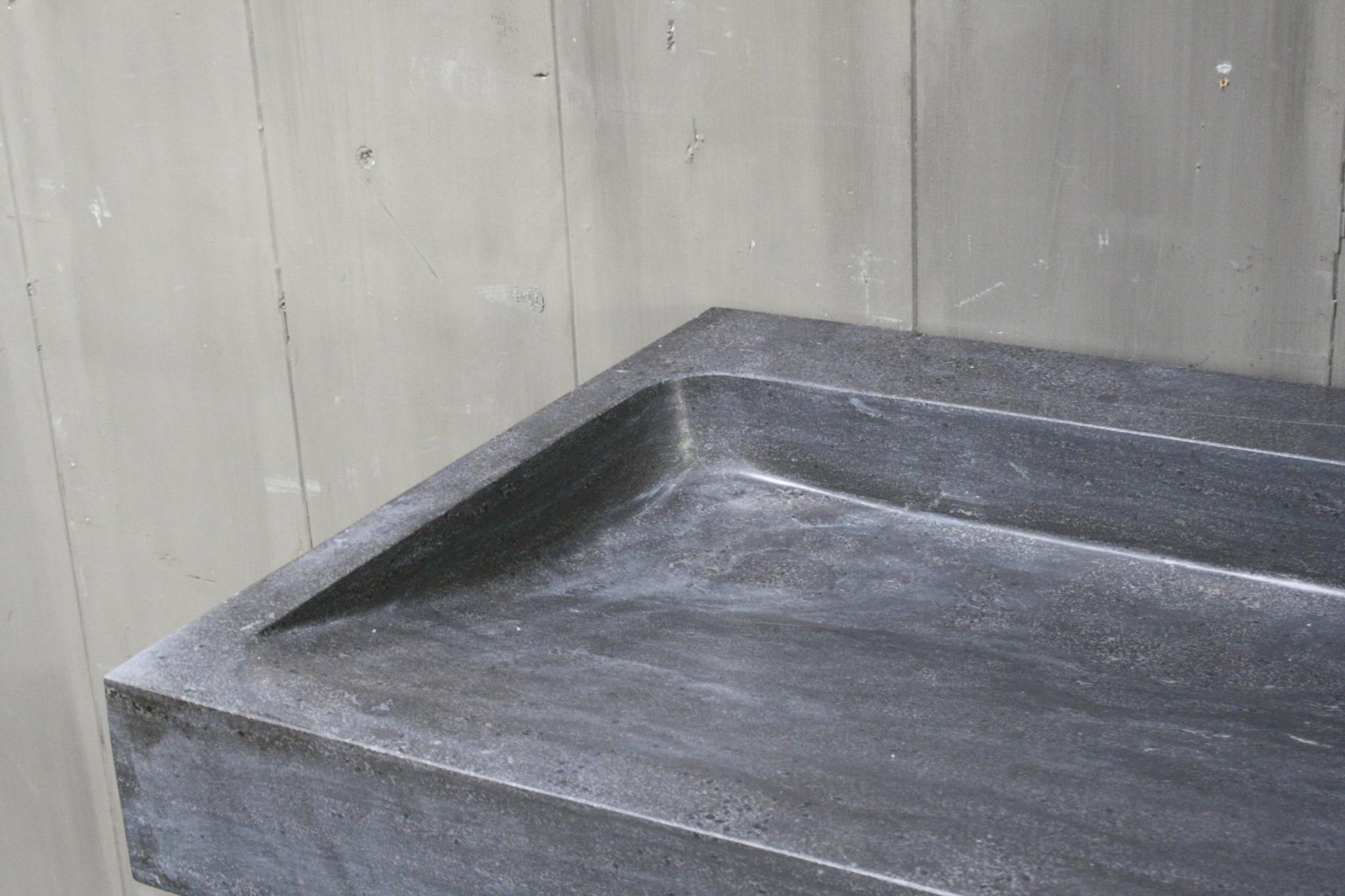 Limbana Natuursteen Meubelwastafel 100 cm 1 kraangat-6