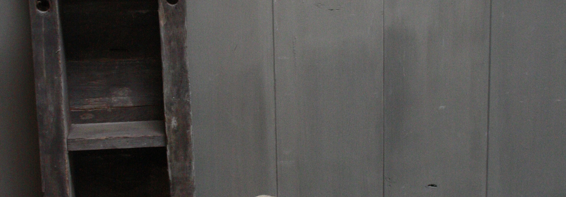 Uniek oud houten wc krukjes - Verschillende maten