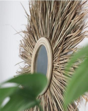De Gras spiegel - Natural - L-3