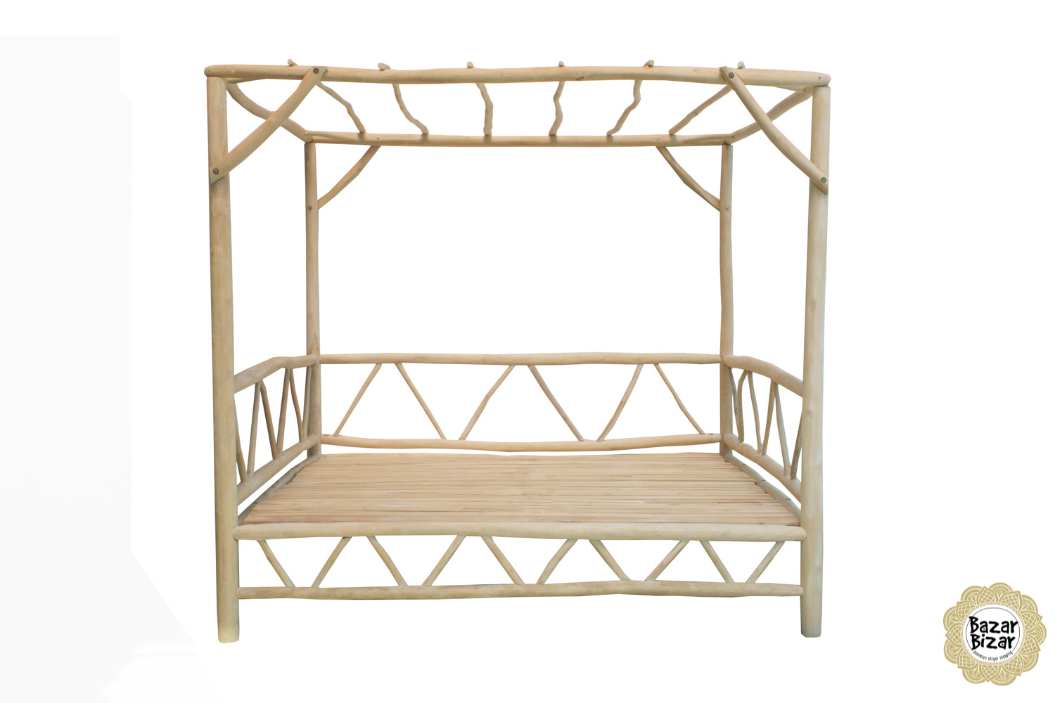 The Tulum Daybed - Natural - L-4