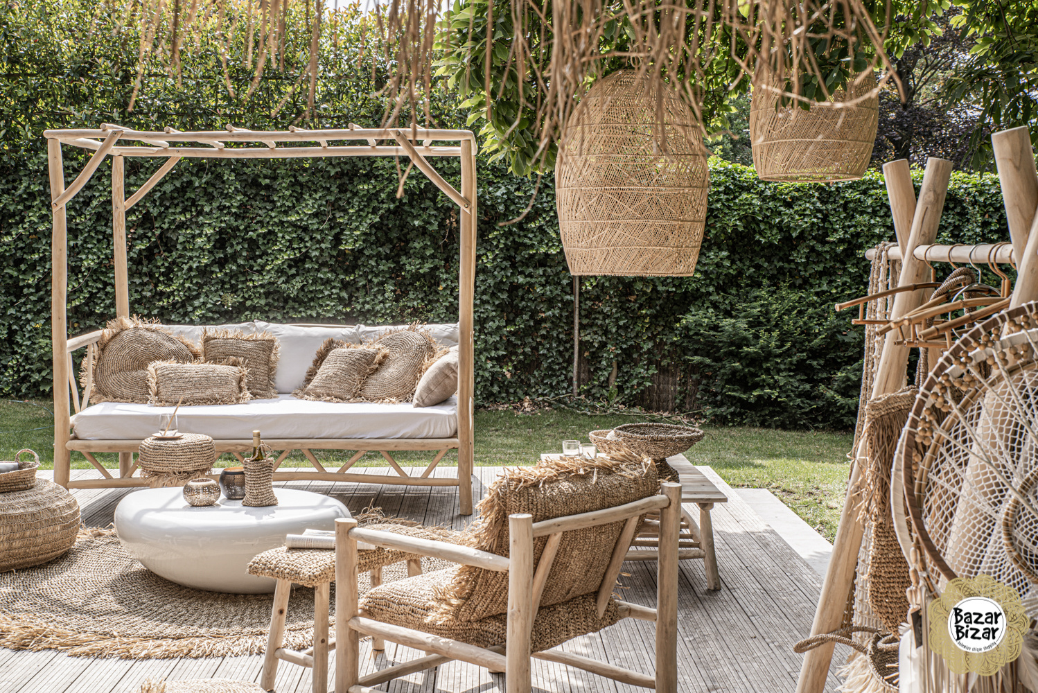 The Tulum Daybed - Natural - L-2