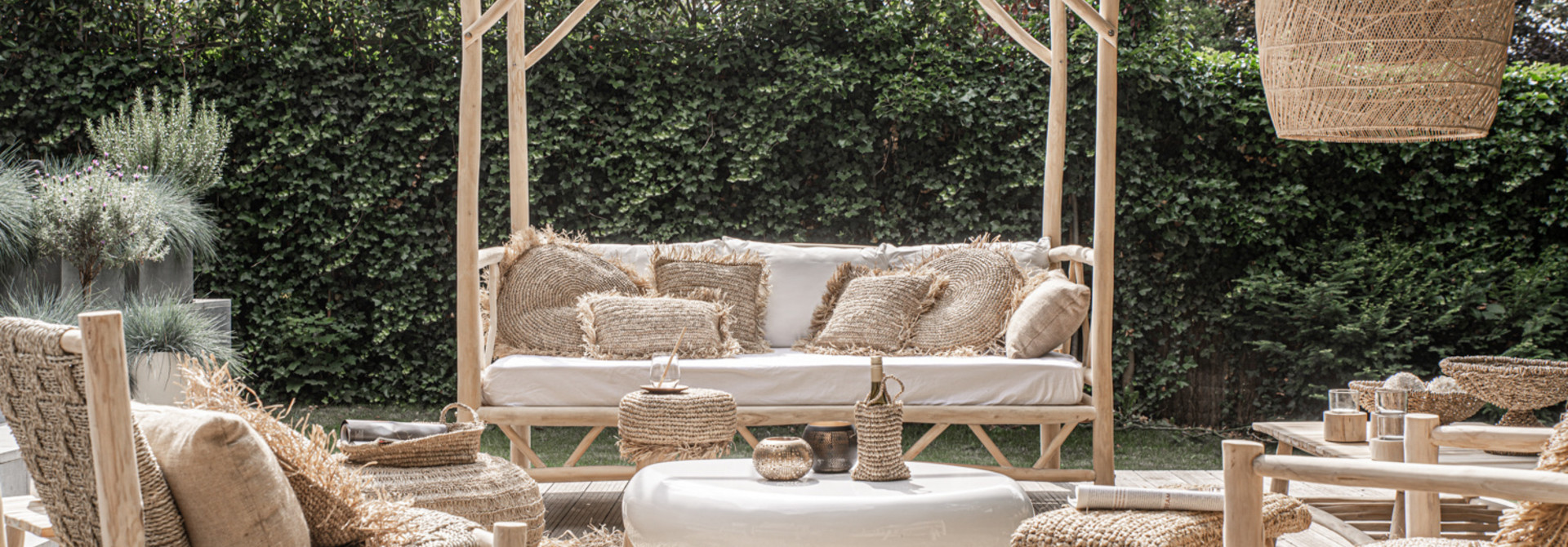The Tulum Daybed - Natural - L