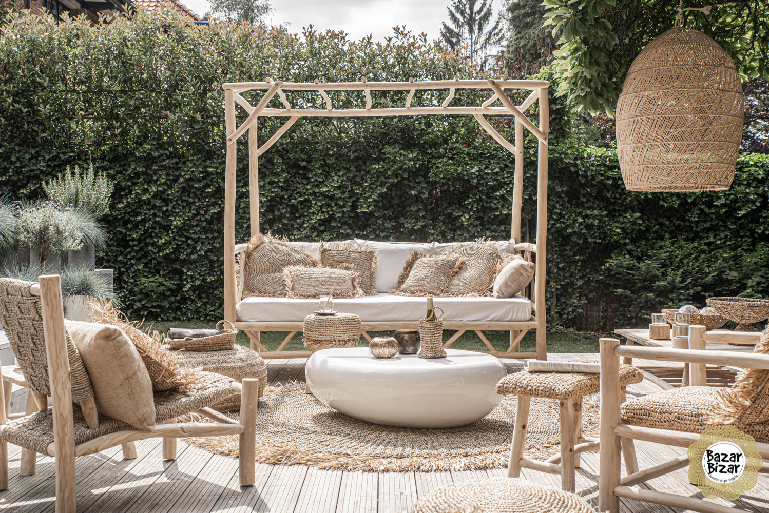 The Tulum Daybed - Natural - L-1