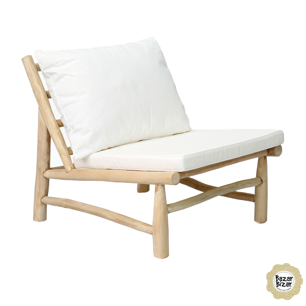 Island One Seater - Natural White-5