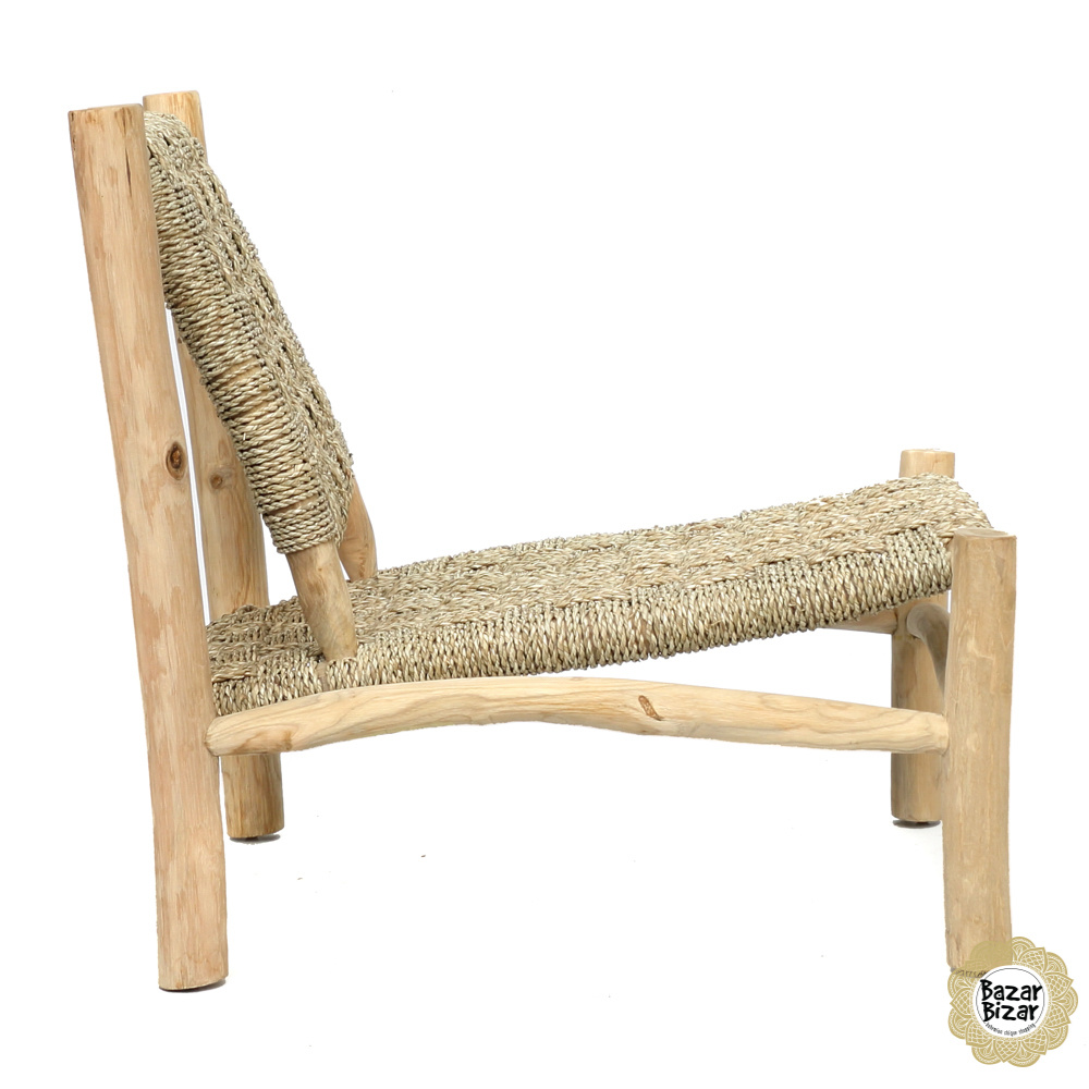 The Seagrass One Seater - Natural-4