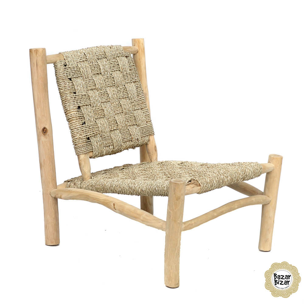 The Seagrass One Seater - Natural-5