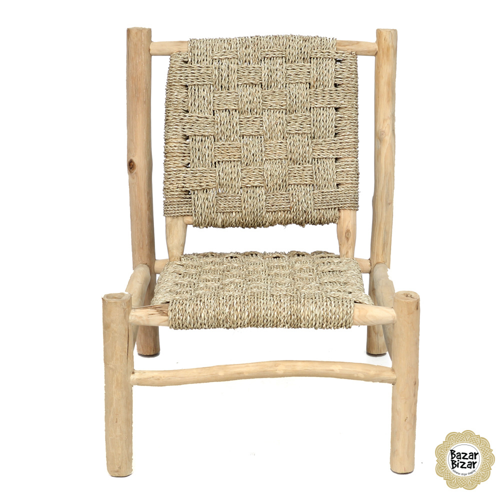 The Seagrass One Seater - Natural-6