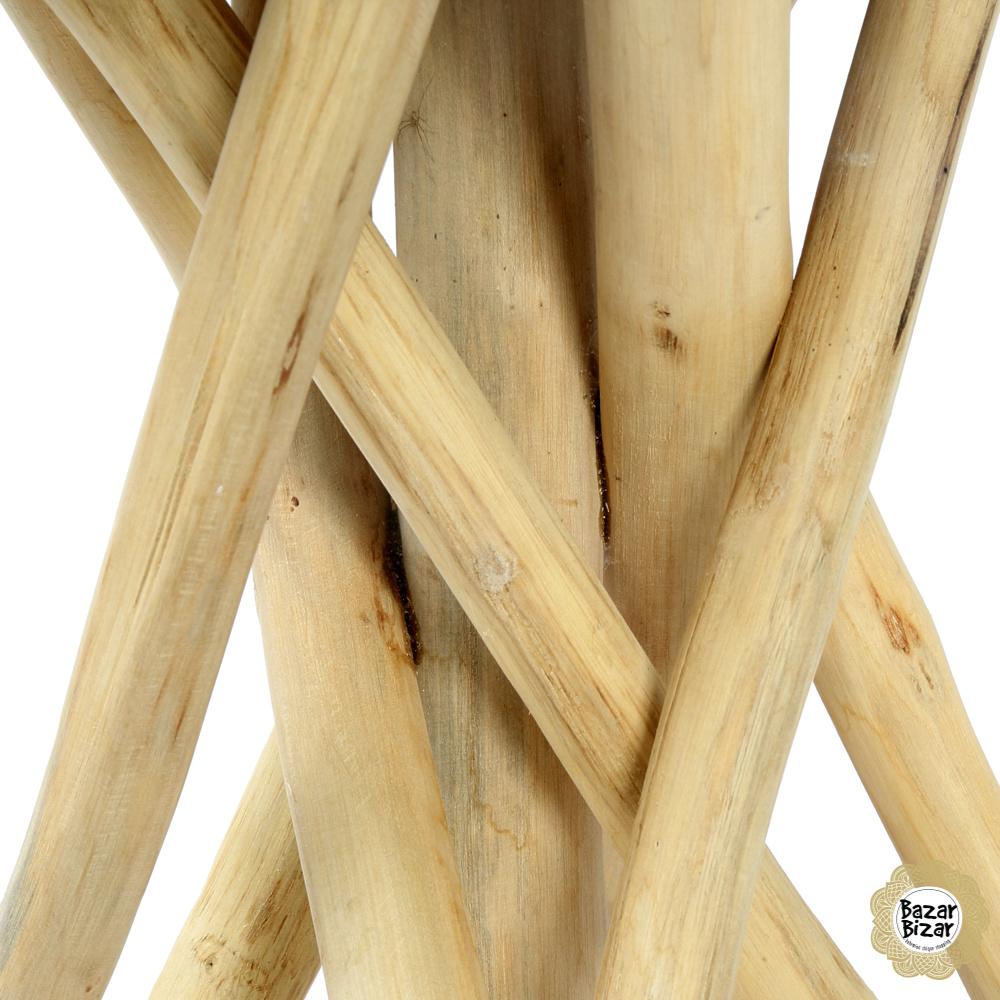 Tulum Tropic Tafel Teak - 45 cm-3
