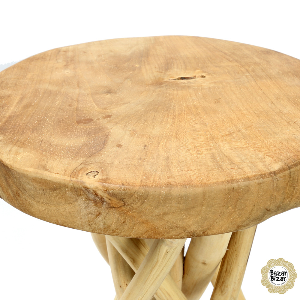 Tulum Tropic Tafel Teak - 45 cm-4
