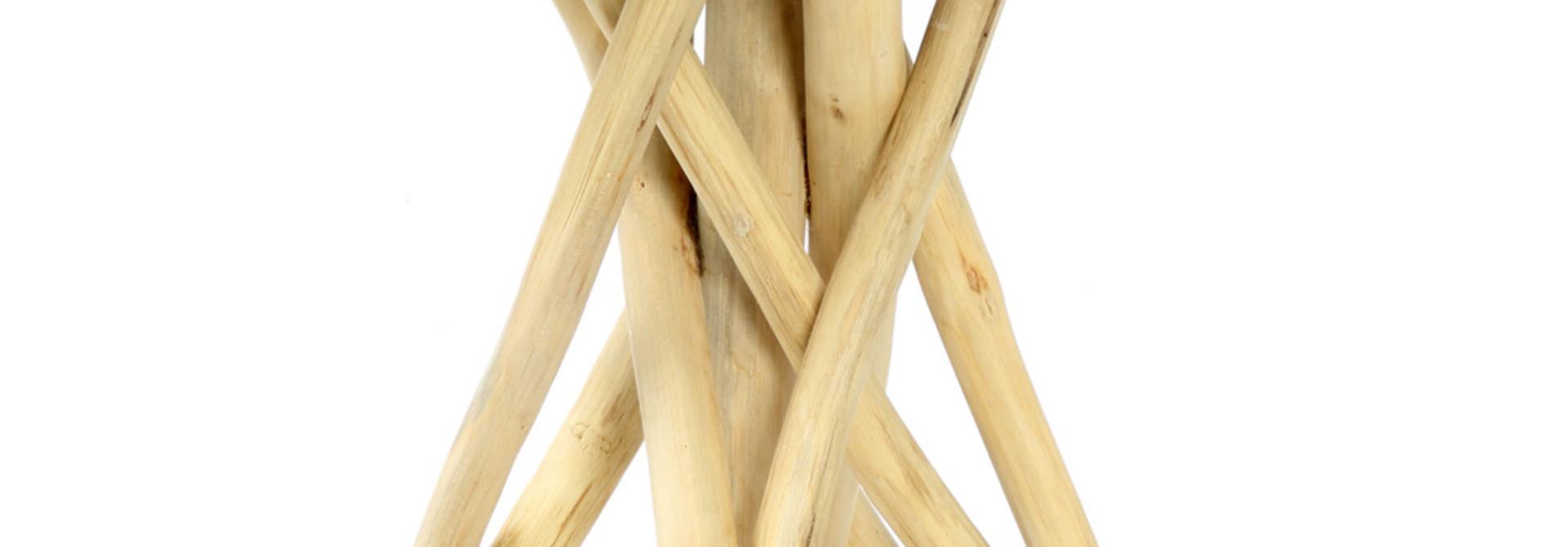Tulum Tropic Tafel Teak - 45 cm
