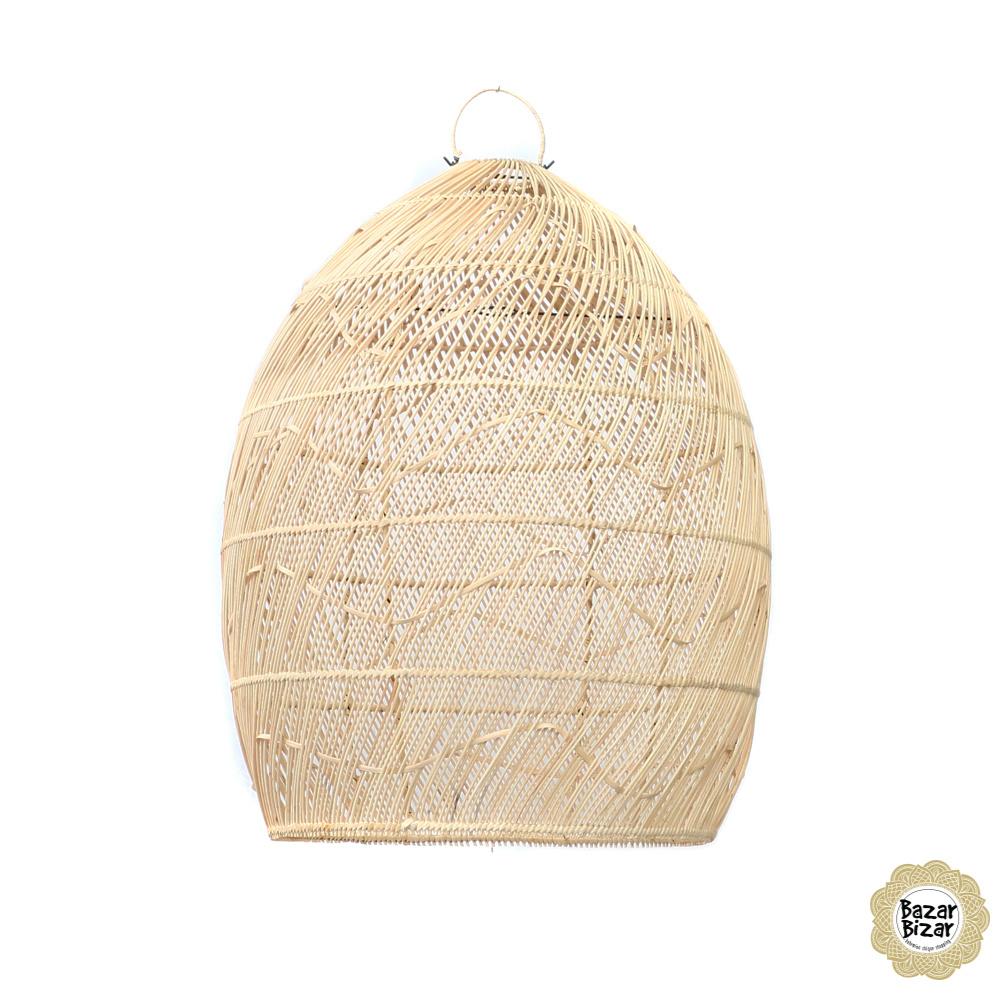 Rattan Hanglamp - Natural - 60 x 100 cm-5