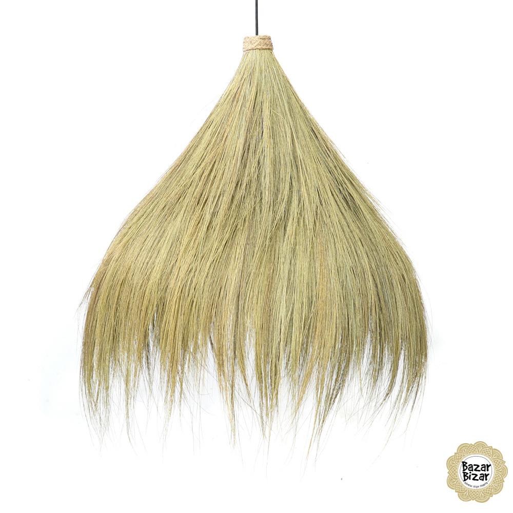 Rayung Hanglamp Gras - Natural - L - 85 cm-2