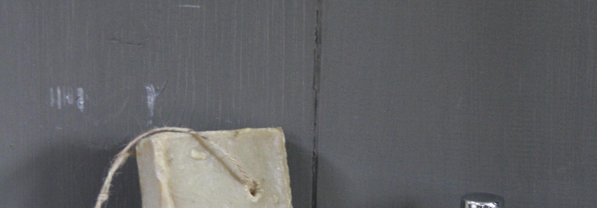 Zeepschaaltje natuursteen 16 x 14 x 3 cm