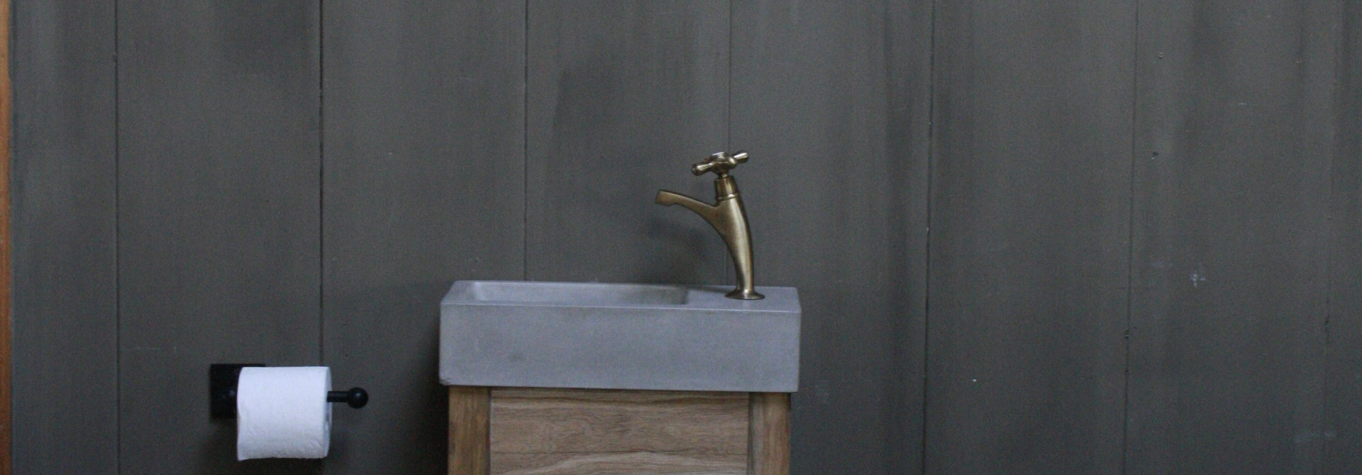 Eikenhouten toiletspiegel Light 53 x 38 cm