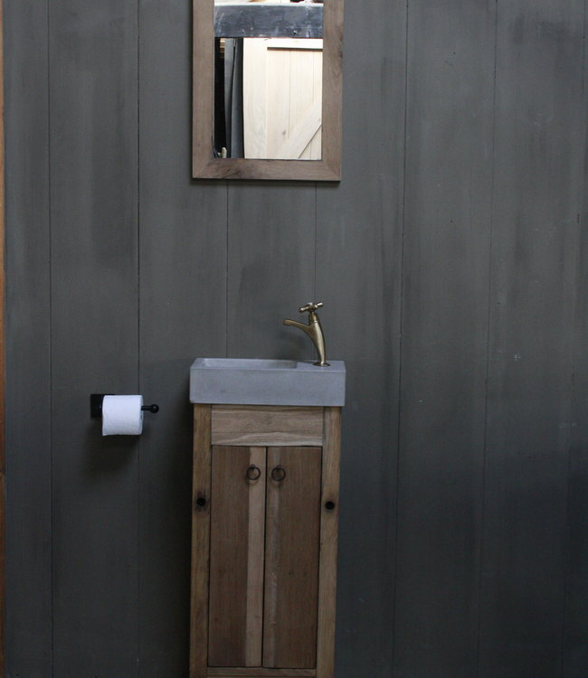 Rene Houtman Eikenhouten toiletspiegel Light 53 x 38 cm