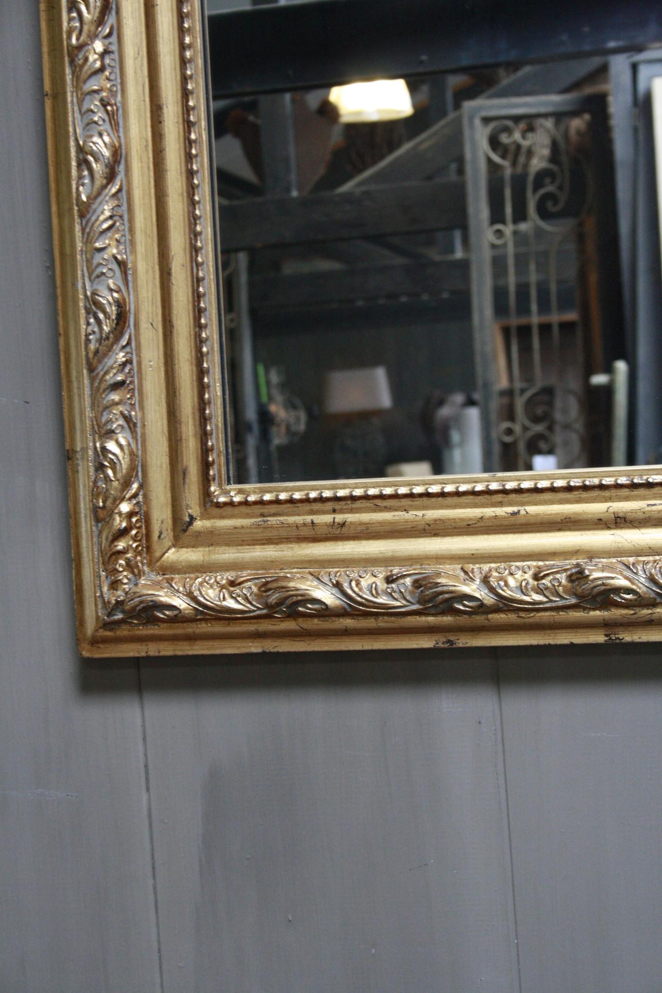 Kuifspiegel Barok Roma Goud 117 x 80 cm-4