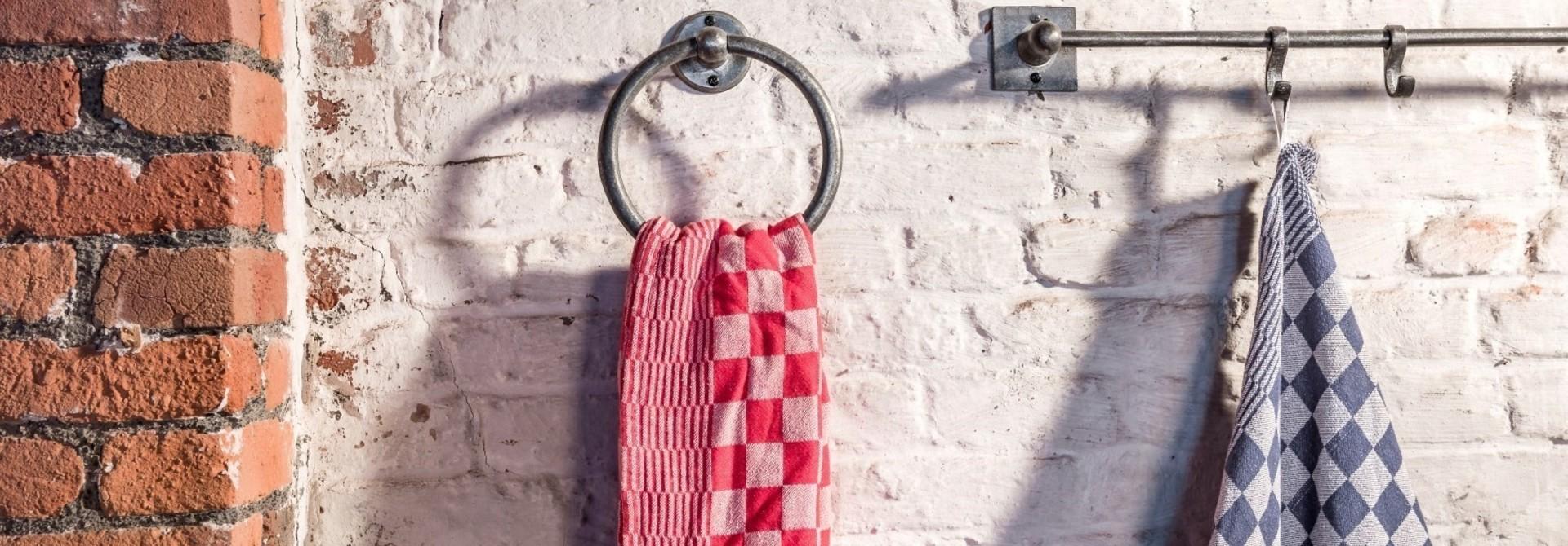 Handdoekring Ruw Metaal Dauby