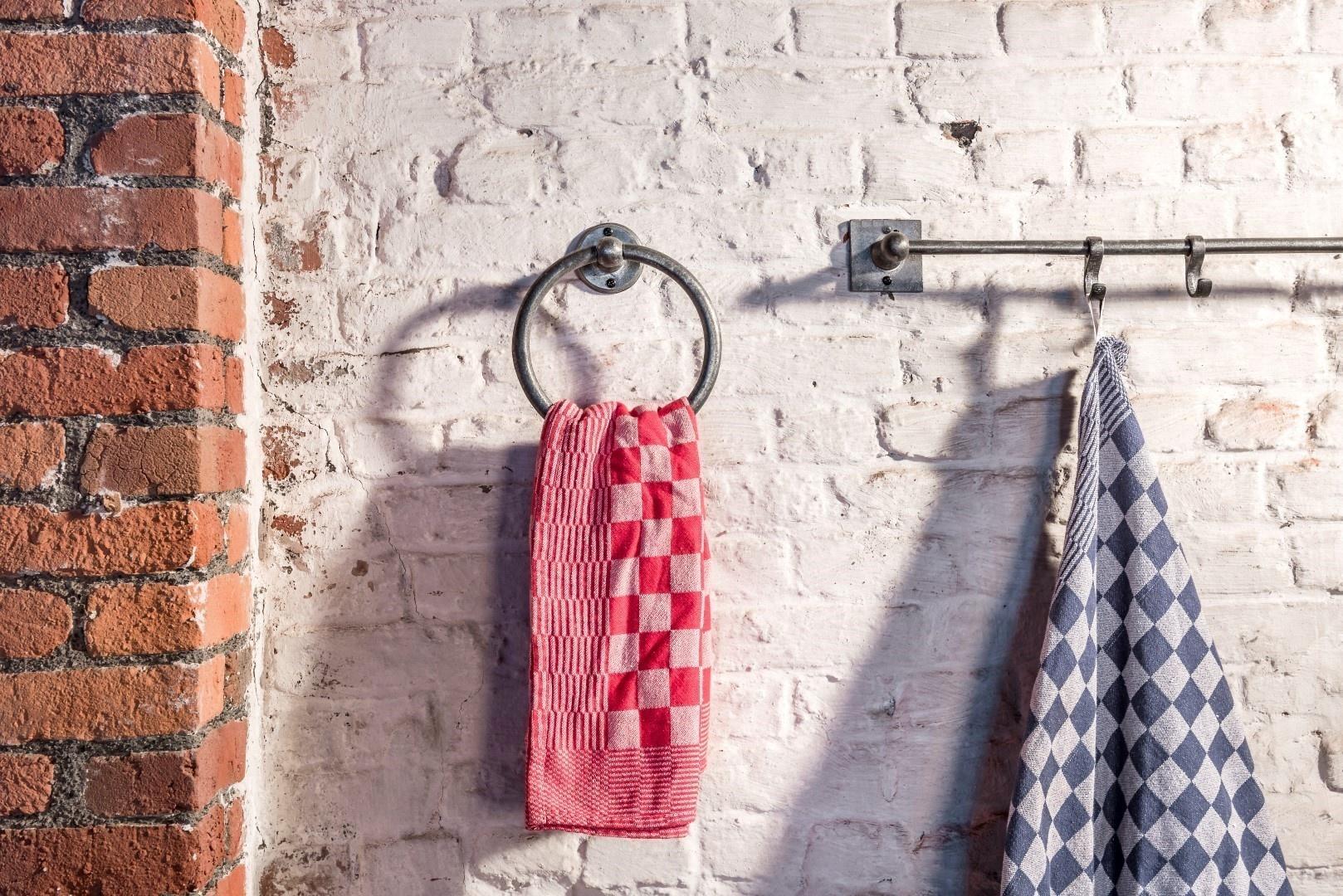 Handdoekring Ruw Metaal Dauby-1